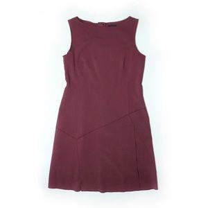 💟 BANANA REPUBLIC Burgundy Dress